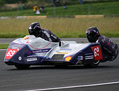 Email our Formula 1 and Formula 2 motorsort racing team for motorbikes and sidecars
