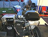 Formula 1 and Formula 2 motorbike and sidecar racing