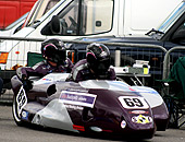 Sponsorship publicity on our Racing bikes and sidecars